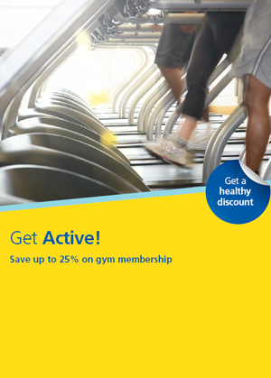 GEN2120 Get Active Gym discounts flyer PMI and GR